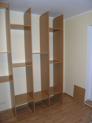 Каркас шкафа-купе на всю длину комнаты