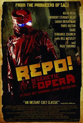 Repo! The Genetic Opera Poster & DVD Cover Art