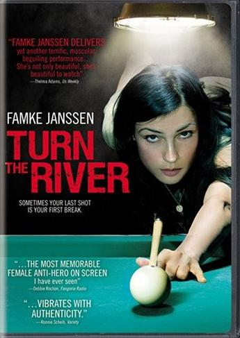 Famke Janssen DVD cover Turn The River pool film