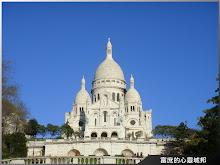 法國巴黎蒙馬特聖心堂
