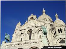 濃厚羅馬拜占庭風格的巴黎聖心堂