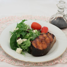 Barbecued Salmon Steaks