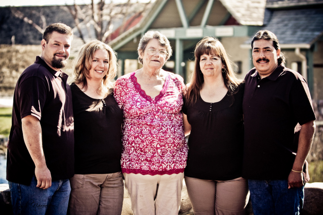 Family Photo shoot at Gardener Village Utah