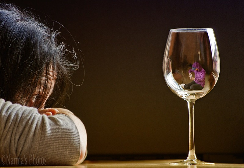 Alcohol can lead to social isolation