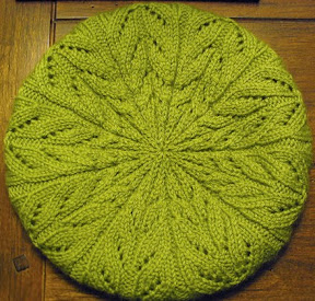 Cascading Leaves Beret