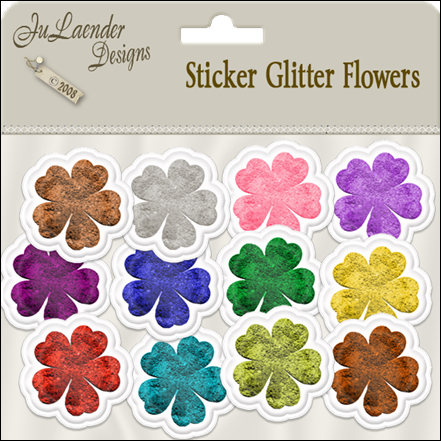 julaender_stickerglitterflowers