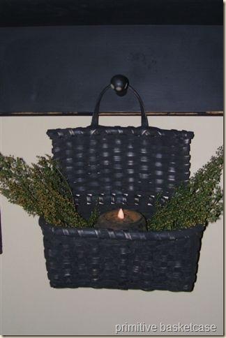 black cherokee comb basket