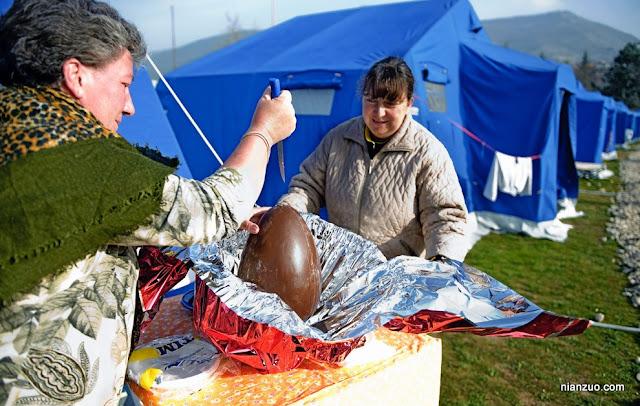 2009复活节 好大的蛋