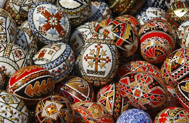 2009复活节 更典型的彩蛋,十字架,宗教