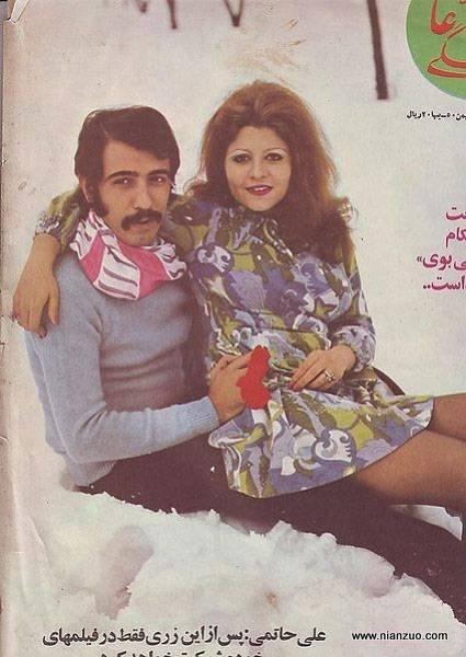 宗教革命之前的伊朗 画报竟然如此开放,雪地