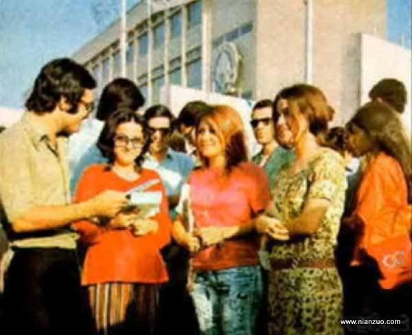 宗教革命之前的伊朗 大学校园