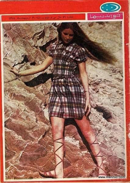 宗教革命之前的伊朗 时尚啊