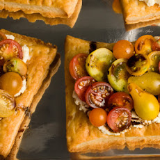 Fresh Tomato and Cheese Puff-Pastry Tart Recipe