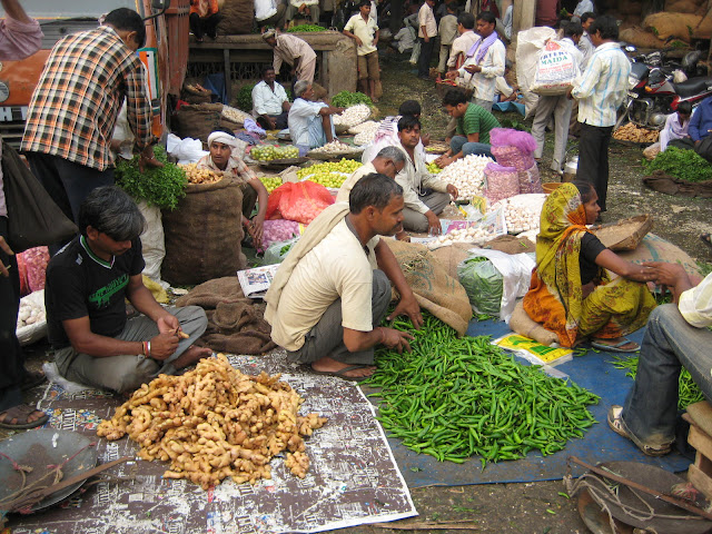 Vegtable Sellers and the Azadpur Market