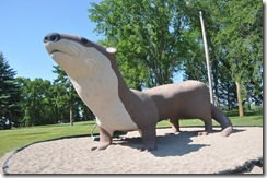 World's Largest Otter, Fergus Falls, MN