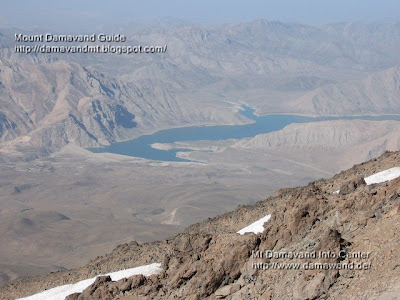lar dam lake damavand Photo by A. Soltani