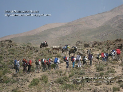 Mt Damavand Tour