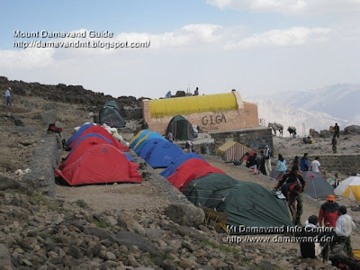 Mt Damavand Camp3 Bargah Sevom Shelter