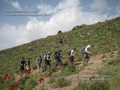 Damavand Mount Iran Hiking & trekking