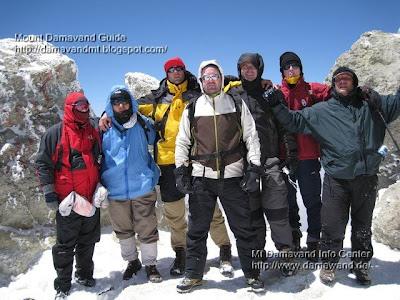 Mt Damavand Peak 5671m