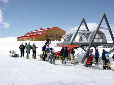 Ski Resort Tochal Tehran, Iran