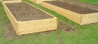 B & J's finished raised beds