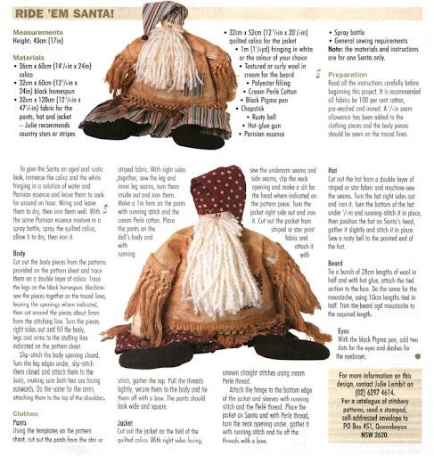 COMPTE_BLOGOF andreiatur : croche com a natureza, bonecos de pano para o natal