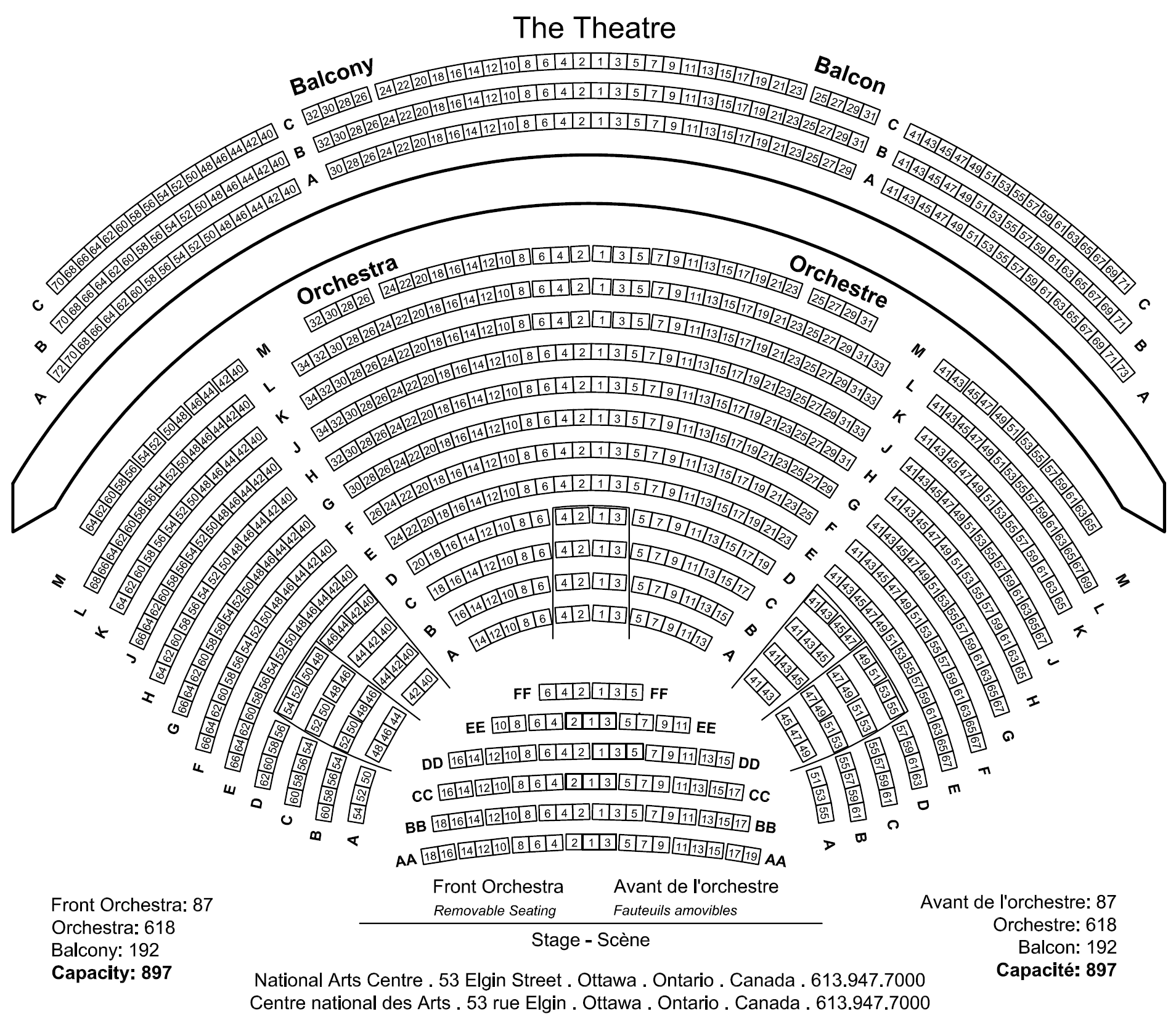 Theatre Tickets And The Nac Michael Holtstrom