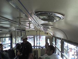 Antigo tróleibus da CMTC aberto à visitação