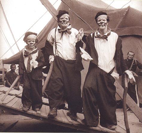 Foto: Circo Nerino em Poções (BA), em 1955 – Fundo Circo Nerino, Centro de Memória do Circo