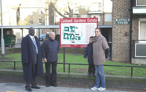 Vassall Action Team on walkabout in Vassall Ward lambeth