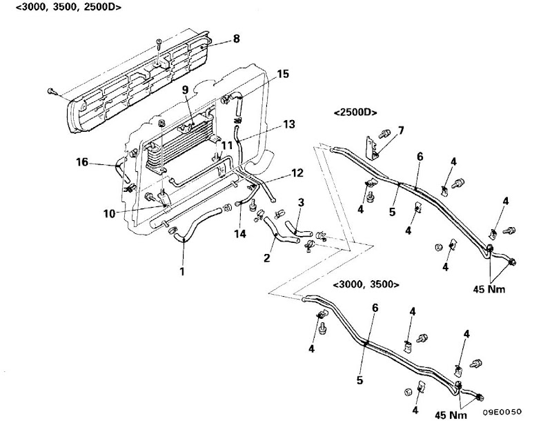 2000 montero sport engine diagram
