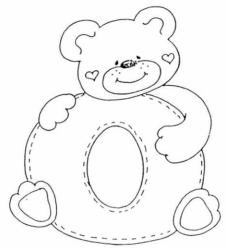 Letras de osos - Imagui