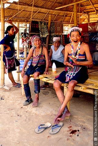 Hilltribe village people, Northern Thailand 8