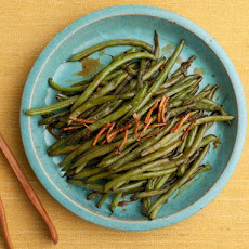 Sweet and Salty Glazed Green Beans