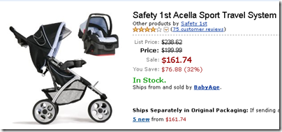 Amazon.com- Safety 1st Acella Sport Travel System- Baby_1247120319562