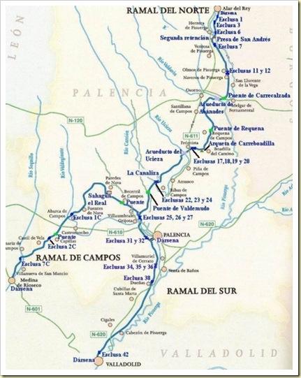 Esclusas Canal Castilla