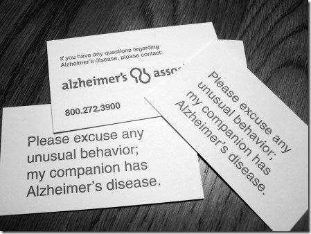 Alz card