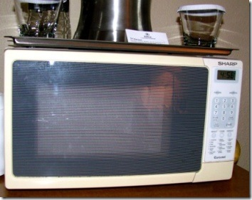 microwave at hotel