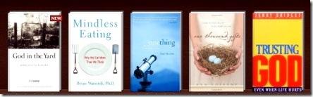 click for a closer look of each book on Shelfari