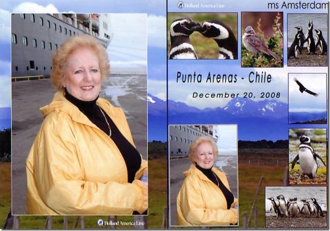 Linda in Punta Arenas
