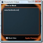 Eclipse 0.2b Screenshot