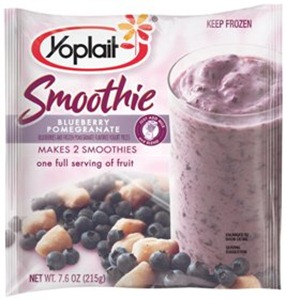 yoplalti frozen smoothie  package ble pom