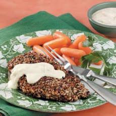 Quick and Easy Pecan-Crusted Dijon Salmon Recipe | Yummly