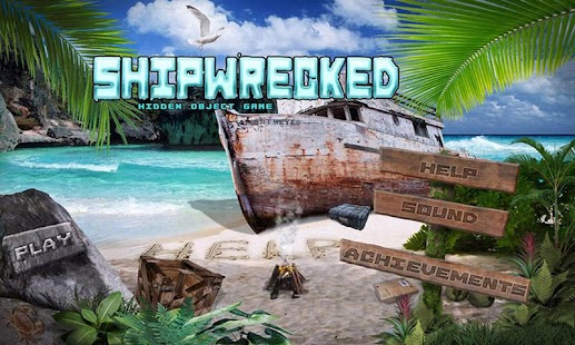 Shipwrecked Free Hidden Object - screenshot