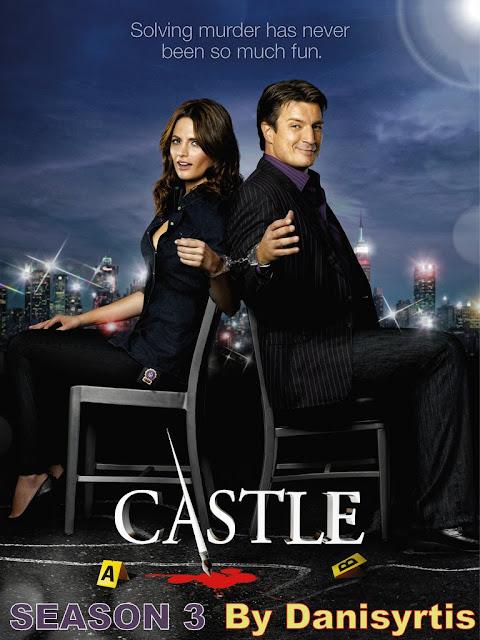 Castle Season 3: Kate Beckett (Stana Katic) and Richard Castle (Nathan Fillion).