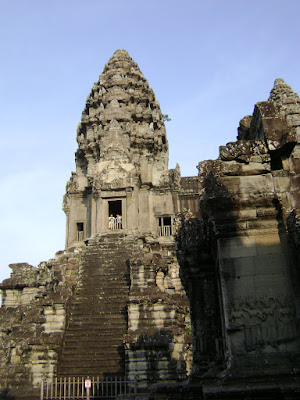 One of top of Angkor Wat