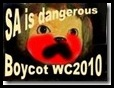 SAisdangerousboycotWC2010