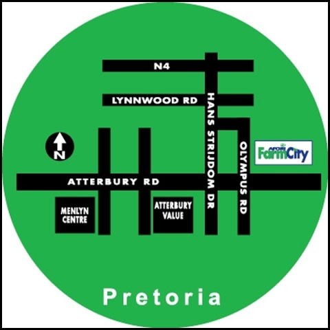 Farm City Plans for Pretoria Menlo Park