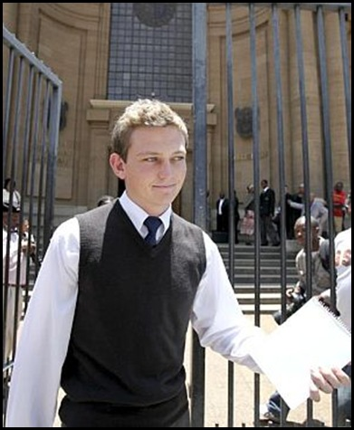 Botha Edwin Johannesburg Hgh Court case to promote him to Grade 12 Beeld